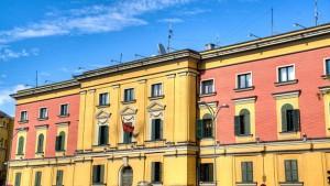 Tirana facade